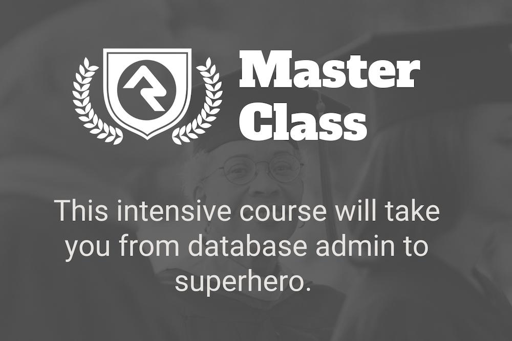 Master Class Marketing Site